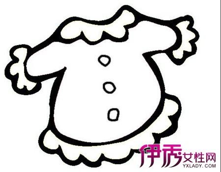 【图】衣服简笔画展示图片 3大点介绍简笔画对幼儿的发展意义