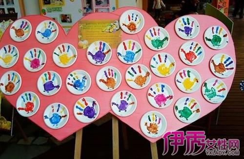 【图】幼儿园感恩节手工作品欣赏 分享感恩父母的词语与句子