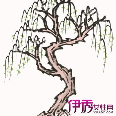 【图】柳树儿童画赏析 如何指导小孩画画?
