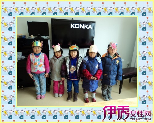 【图】幼儿园动物头饰制作活动 渗透循环再造的环保意识教育.