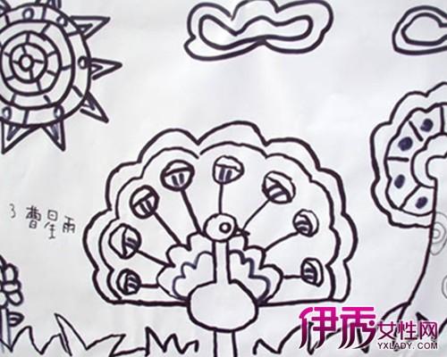 【图】儿童线条画图片大全幼儿 轻松培养孩子才艺