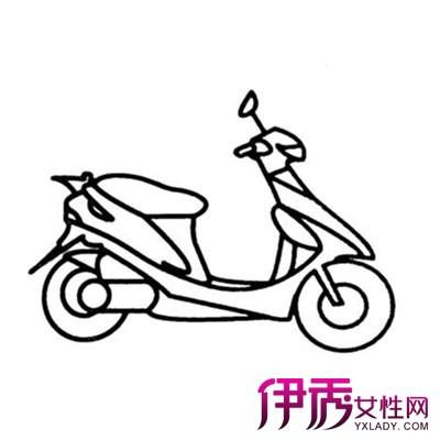 【图】观看幼儿简笔画摩托车 了解孩子的绘画特点