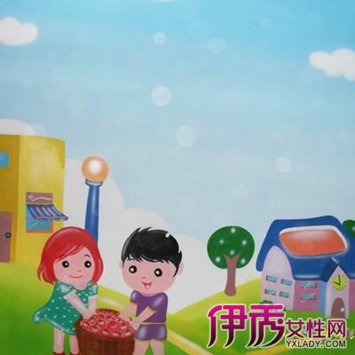 【图】萌萌哒的幼儿园外墙卡通画 瞬间萌化你的内心