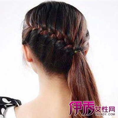 儿童编辫子发型扎法推荐 其几个简单造型小诀窍