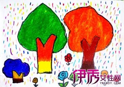 【图】鉴赏幼儿画画树 揭秘绘画的两大体系