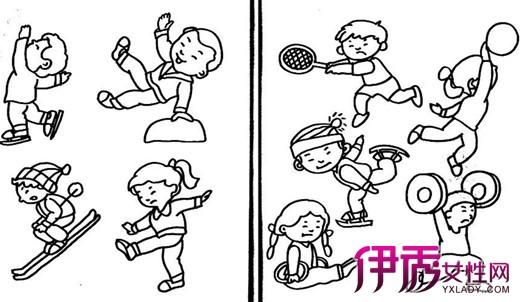 【图】鉴赏儿童简笔画运动会 体会儿童独特的绘画表达