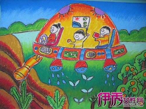 画大全 儿童画欣赏 > 正文 中学生画科技幻想创意绘画作品,图片尺寸图片