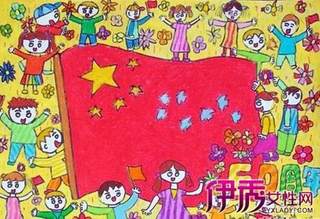 【图】我爱祖国优秀儿童画欣赏