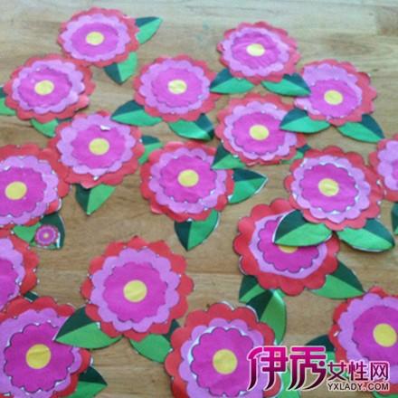 【图】幼儿园小红花图片展示 6个步骤教你如何剪小红花