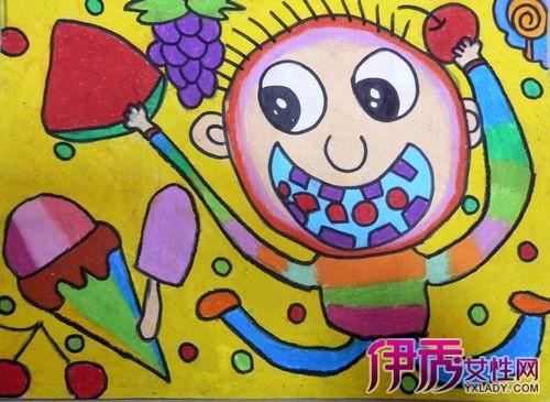 【图】展示幼儿油画棒绘画作品 带你进入儿童的世界