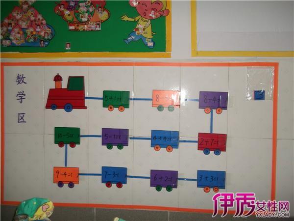... 数学墙面布置_幼儿园数学区域_幼儿园数学区操作