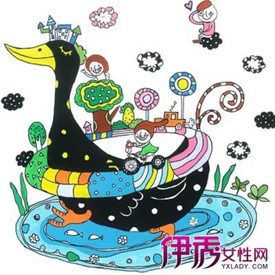 画|四年级儿童画动物|四年级儿童画关于英语|三年级儿童画图片大全