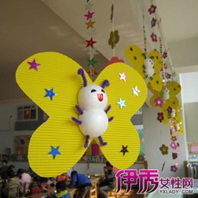 【图】精美幼儿园小班教室吊饰 给儿童一个良好的成长环境
