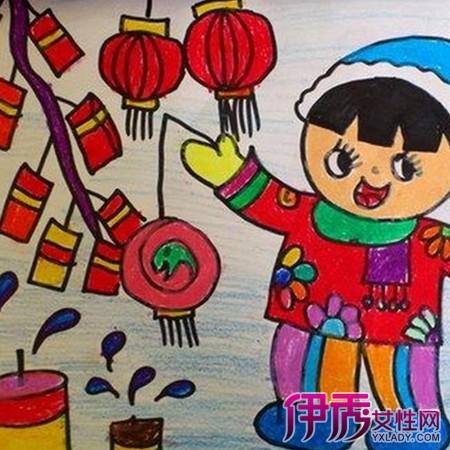 【图】春节图片大全儿童画欣赏