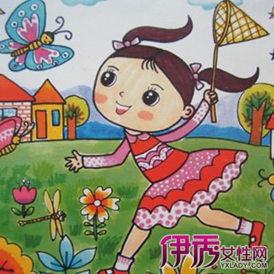 【图】我运动我健康我快乐儿童画大全 儿童画六大特点
