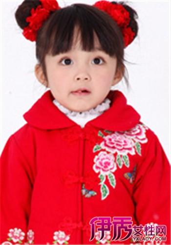 可爱一岁宝宝发型女孩图片大全