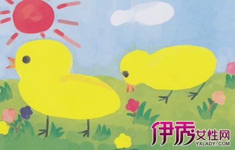 儿童水粉画动物作品展示 怎样教孩子学好水粉画-儿童水粉画动物