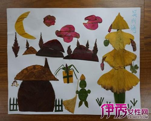 【图】查看幼儿园树叶房子贴画 教你的孩子开发智力