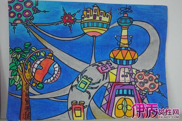 【图】欣赏梦想儿童画图片 了解绘画对孩子的意义图片