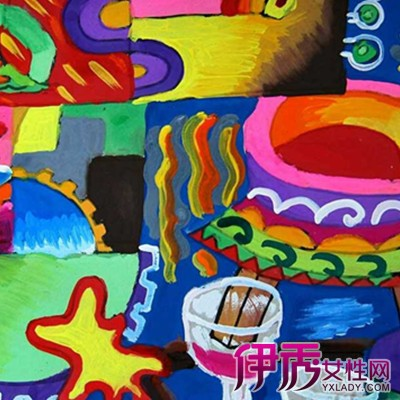 【图】儿童水粉画图片大全 让妈妈们通过绘画了解孩子