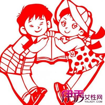 【图】儿童简单剪纸图解人物篇展示 剪纸的三大方法技巧介绍-儿童简