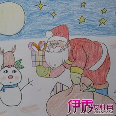 庆祝元旦的儿童画