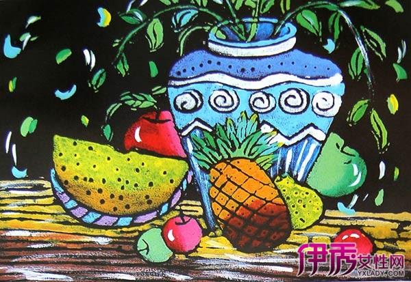 【图】创意水粉儿童画欣赏 怎样教孩子学好水粉画
