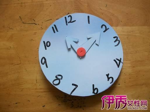【图】儿童手工钟表怎么做呢 两大方法轻松搞定钟表制作