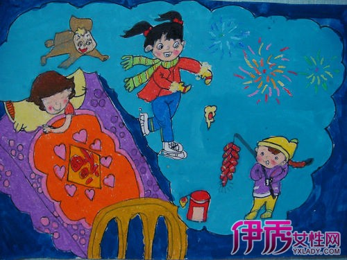 【图】新年愿望儿童画欣赏 让您的孩子从小领先一步