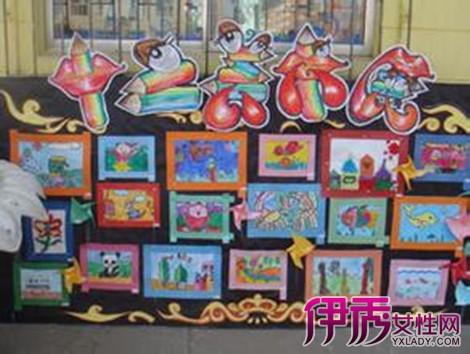 【图】盘点幼儿画展布置图片 分享幼儿园画展策划方案