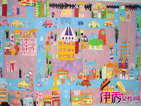 【图】幼儿园主题墙饰冬天大班 墙饰让孩子不断得到充实