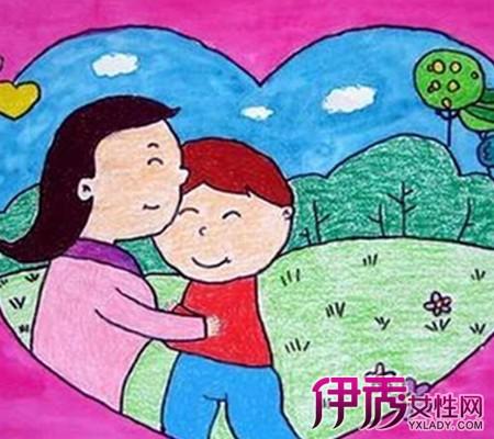 【图】幼儿新年贺卡简笔画作品展示-乐乐简笔画