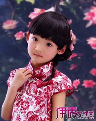【图】儿童旗袍发型图片欣赏 轻松打造出完美小公主