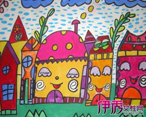 【图】幼儿绘画房子图片欣赏 为你介绍绘画的体系及类型