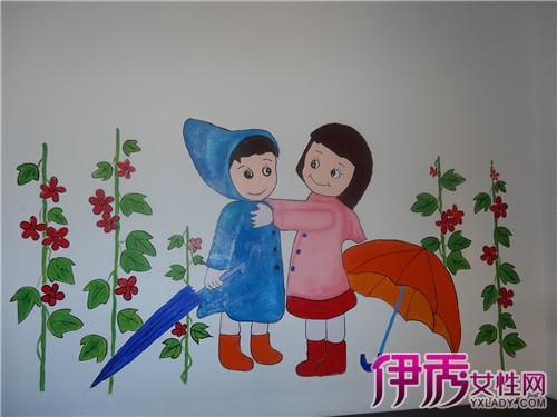 【图】幼儿园楼梯墙面绘画欣赏 感受别样的儿童乐园