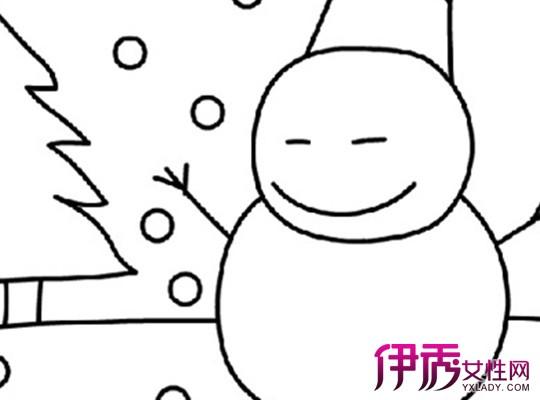 【图】幼儿大班冬天简笔画图片大全 如何教小朋友学画画