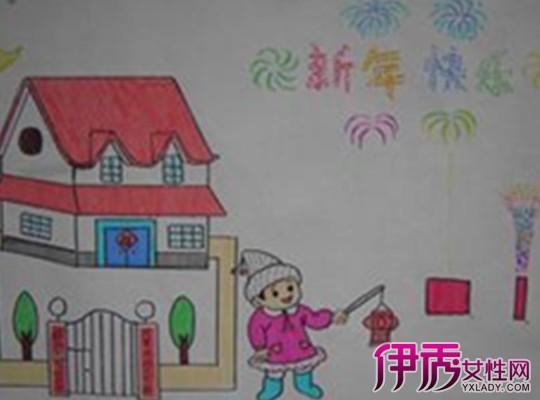 【图】迎新年儿童画图片大全 如何教小朋友画画