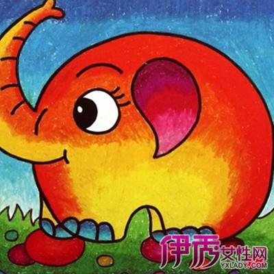 【图】大象儿童画图片大全