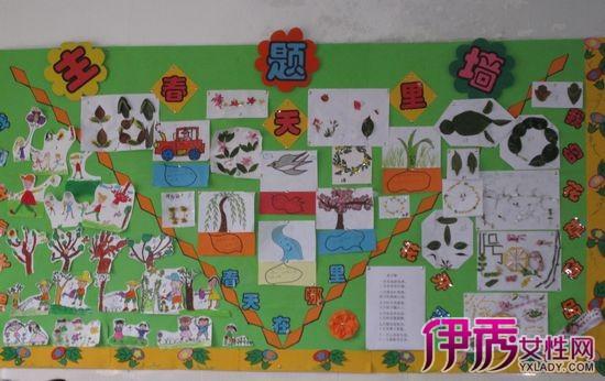 【图】欣赏幼儿园大班春季主题墙 让会说话的墙壁充满整个教室