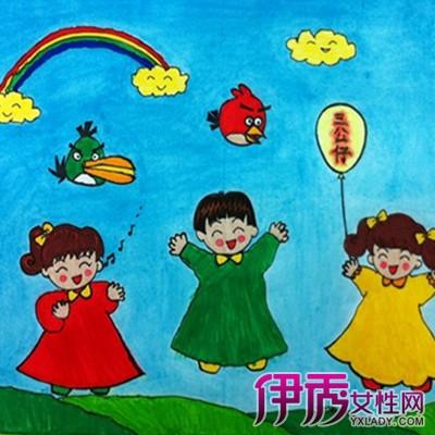 【图】小朋友唱歌简笔画一览 促