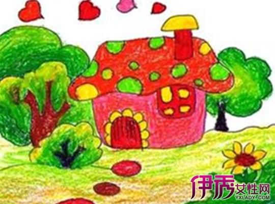 【图】儿童画小房子图片大全 详解儿童画画的好处