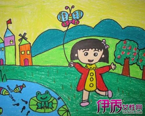 儿童积极向上的图画