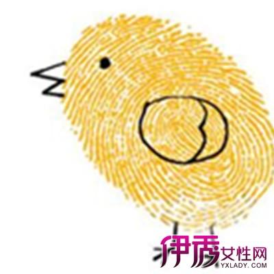 中班幼儿手指绘画图片大全_幼儿999