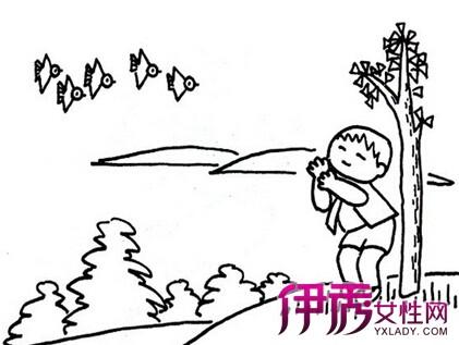 【图】幼儿春天简笔画作品欣赏 介绍绘画对孩子的好处