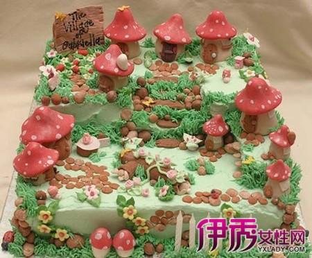 【图】方形卡通蛋糕 喜欢方形蛋糕的你千万别错过