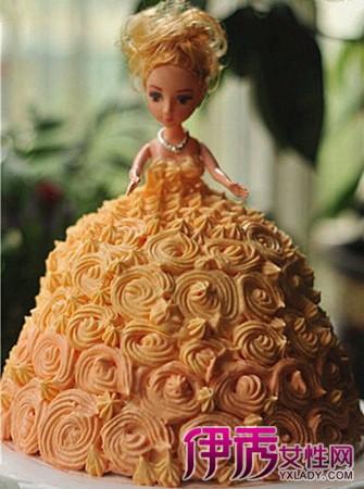 【图】双层芭比娃娃蛋糕图片欣赏 教你做芭比娃娃蛋糕图片