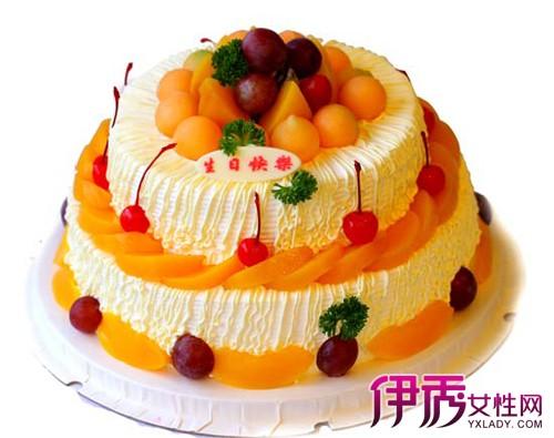 漂亮的双层蛋糕图片-最新两层蛋糕图片大全/简约双层