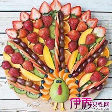 【图】水果拼盘图片欣赏 以下步骤教你如何做水果拼盘
