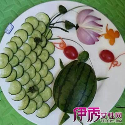【图】卡哇伊的儿童水果拼盘图片做法