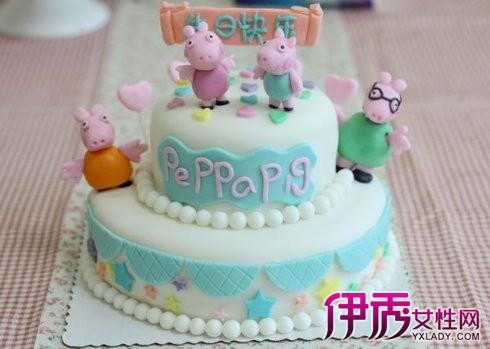 【图】粉红猪小妹蛋糕图片 24个步骤制作美味蛋糕